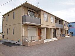 群馬県太田市東矢島町の賃貸アパートの外観