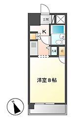 コンフォルト鶴舞[4階]の間取り