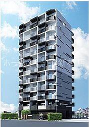 東京都大田区大森西3丁目の賃貸マンションの外観