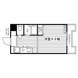 パルハイム宮東[1階]の間取り