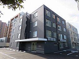 北海道札幌市中央区北二条東13丁目の賃貸マンションの外観