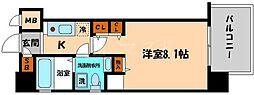 エコロジー京橋レジデンス[9階]の間取り