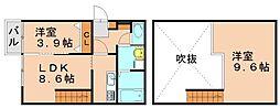 アンピオ南福岡[2階]の間取り