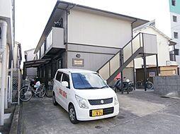 大阪府茨木市総持寺1丁目の賃貸アパートの外観