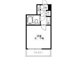 JUN平山城[2階]の間取り
