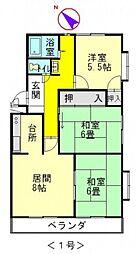 マイン高須[3階]の間取り