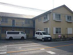 埼玉県吉川市平沼1丁目の賃貸アパートの外観