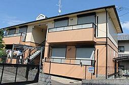 大阪府高槻市上土室1丁目の賃貸アパートの外観