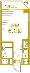 アーバンハイツ新倉[6階]の間取り