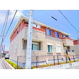 静岡県焼津市下小田の賃貸アパートの外観