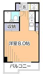 東京都小平市小川東町5丁目の賃貸マンションの間取り