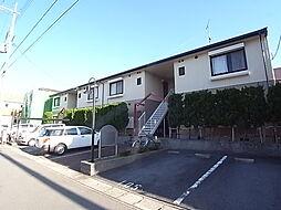 兵庫県高砂市神爪2丁目の賃貸アパートの外観