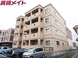 三重県四日市市芝田2丁目の賃貸マンションの外観