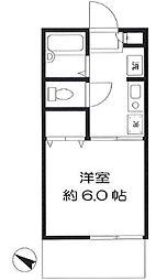 フレグランス東戸塚[1階]の間取り