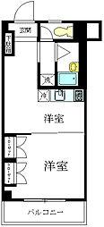 コーポ宇田[2階]の間取り