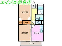 三岐鉄道北勢線 東員駅 徒歩14分の賃貸アパート