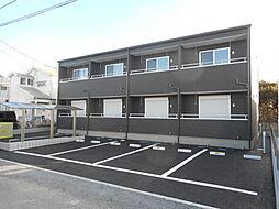 埼玉県東松山市松葉町4丁目の賃貸アパートの外観