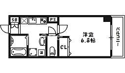 IF城北2[3階]の間取り