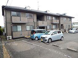 広島県福山市幕山台2の賃貸アパートの外観
