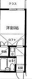 マックハイツ松戸[2階]の間取り