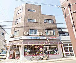 京都府京都市北区紫竹上緑町の賃貸マンションの外観