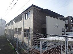 京都府京田辺市草内大切の賃貸アパートの外観