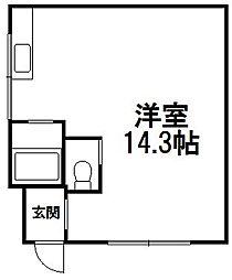 NANGOU ISLAND[301号室]の間取り