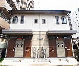 京都府京都市下京区五条通油小路西入泉水町の賃貸アパートの外観