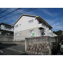 広島県広島市安佐南区高取北2丁目の賃貸アパートの外観