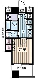 西川ビル[3階]の間取り