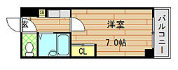 大宝長田ルグラン[501号室]の間取り
