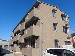 兵庫県三木市大塚の賃貸アパートの外観