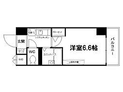 ラナップスクエア京都北野[2階]の間取り