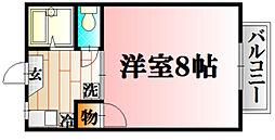 I.DUNE A[26号室]の間取り