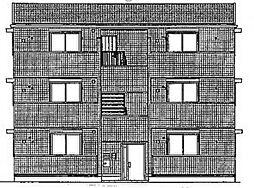 ポルト白石A[2階]の外観