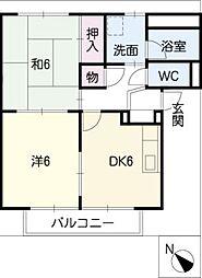 SurplusIIMURATAA[2階]の間取り