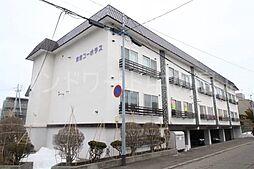 北海道札幌市豊平区平岸三条5丁目の賃貸アパートの外観