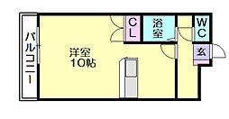 エスペランス1[2階]の間取り