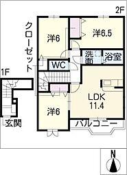 INUI 51[2階]の間取り