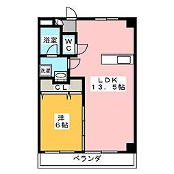 メゾンT・A[2階]の間取り