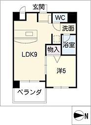 ANNEX冨田[4階]の間取り