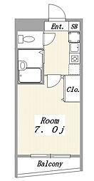 FINE N HOUSE(ファインNハウス)[109号室]の間取り