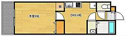 ライフ第7マンション豊田町[3階]の間取り
