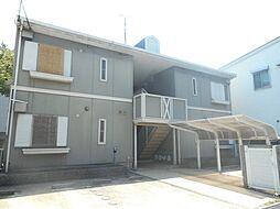 大阪府堺市西区浜寺船尾町西4丁の賃貸アパートの外観
