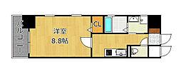 MDIグランデラブロ香春口[10階]の間取り