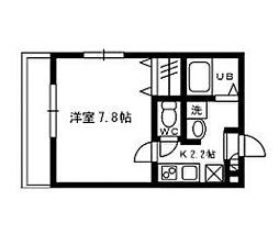 フルハウス bt[301kk号室]の間取り