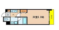 サプール津田沼[106号室]の間取り