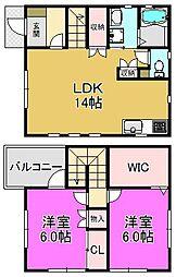 [一戸建] 大阪府堺市堺区榎元町4丁 の賃貸【/】の間取り