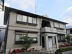 大阪府羽曳野市島泉1丁目の賃貸アパートの外観