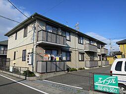静岡県駿東郡清水町堂庭の賃貸アパートの外観